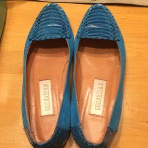 Vintage Nordstrom Blue Loafers